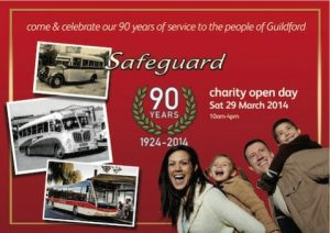 Safeguard Coaches celebrated 90 years operating coaches in Surrey and Hampshire
