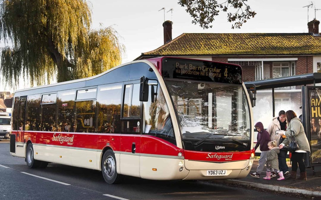 Safeguard Coaches Shortlisted  for the UK Bus Awards 2015