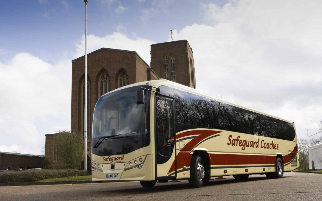 Safeguard Coaches introduces second 70 seat Plaxton Leopard