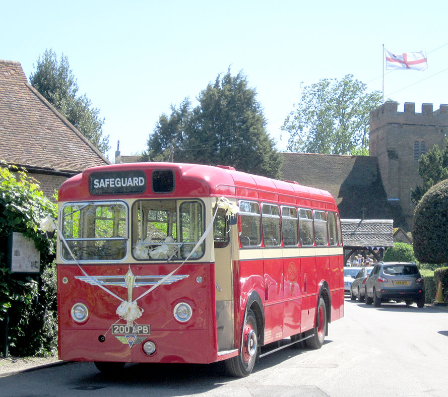 Heritage Wedding Bus
