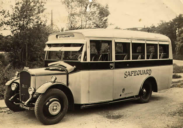 Safeguard Coaches Vintage Bus