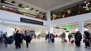 Gatwick Airport Arrivals Hall