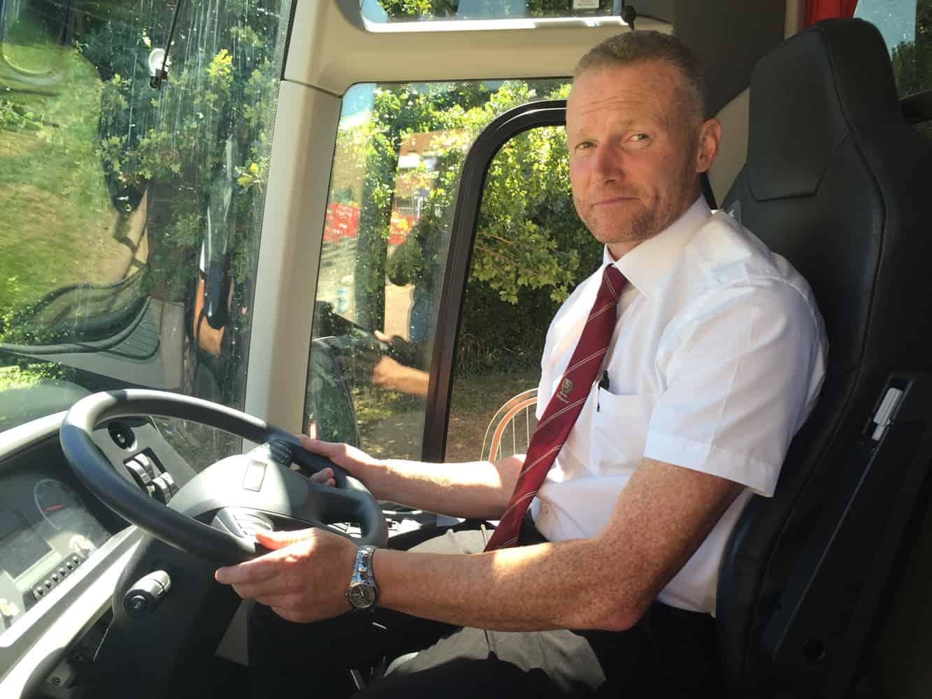 Safeguard Coach Driver
