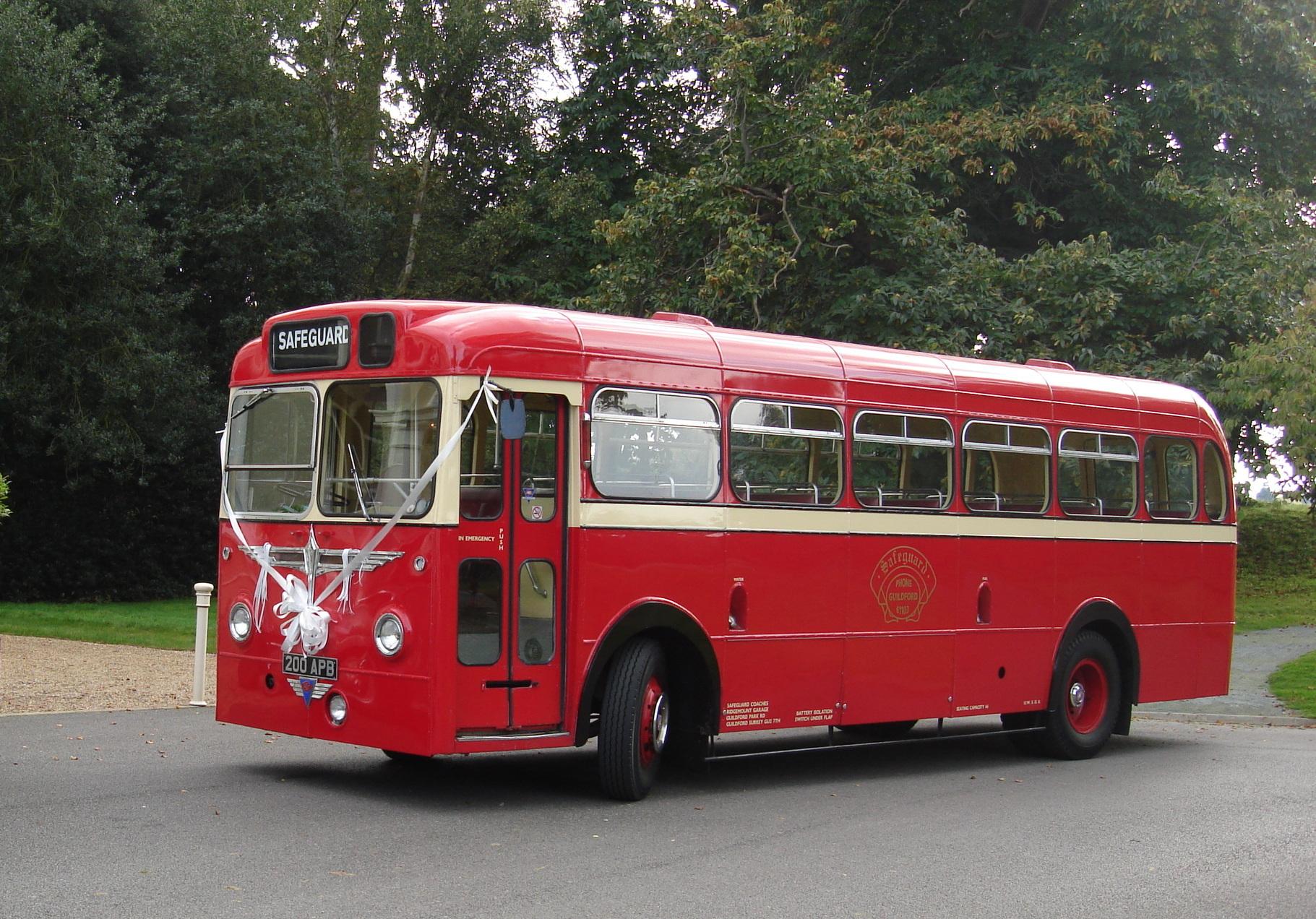 Vintage Bus Hire Service